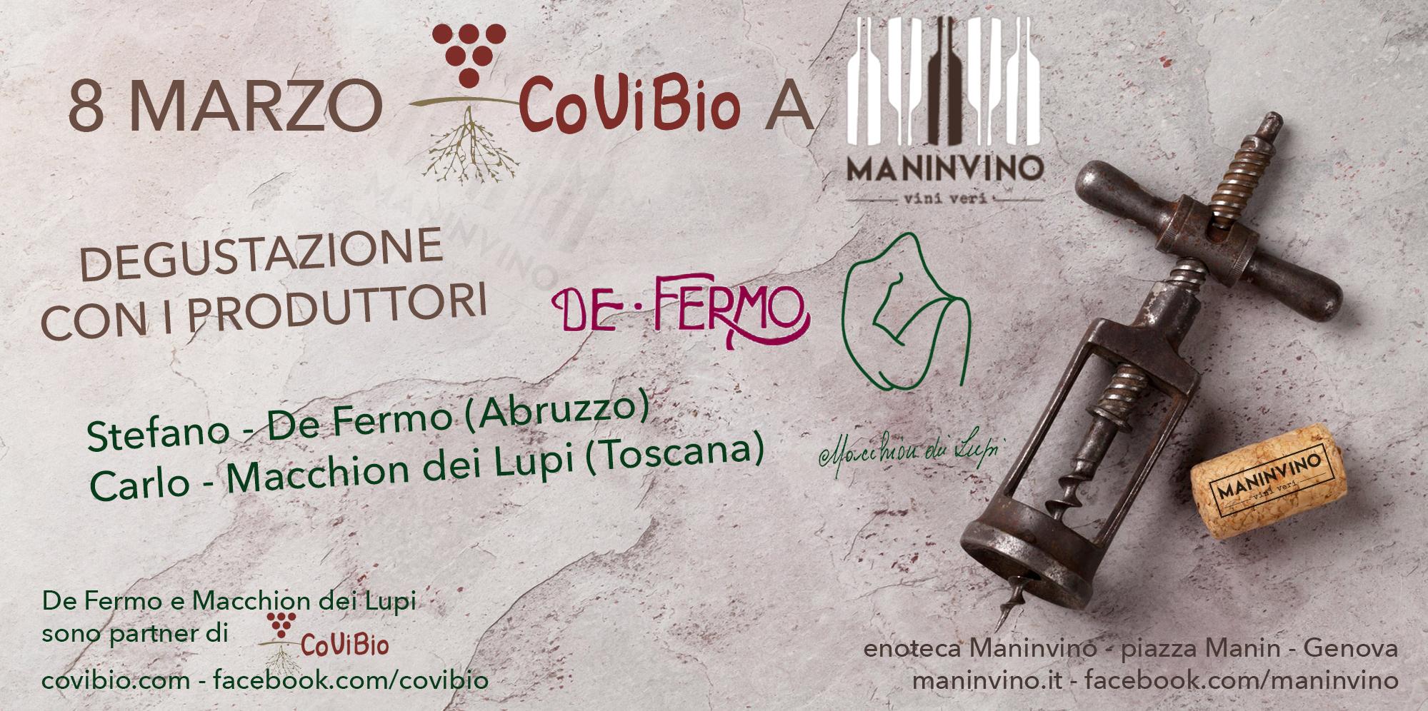 Covibio in tour: Maninvino – marzo 2018